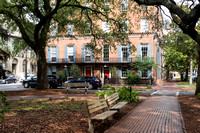 View from Oglethorpe Square