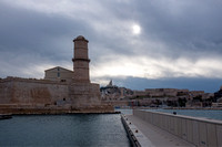 View of Fort Saint Jean from the MUCEM