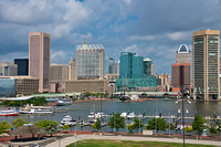 View on the Inner Harbor from Federal Hill