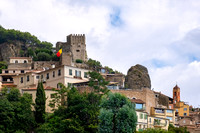 The old village of Roquebrune and its 10th Century castle