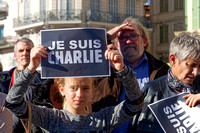 January 2015: Je suis Charlie