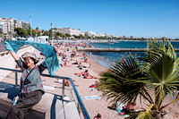 Cannes, on the Croisette: Exuberance