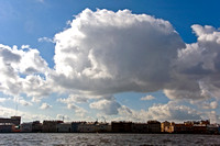 Clouds over Saint Petersburg