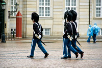Guards at Amalienborg