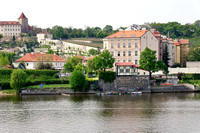 Looking across the Vltava