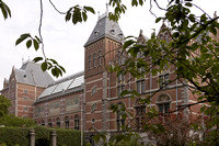 The back of the Rijksmuseum