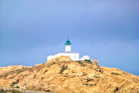 The L'Ile Rousse lighthouse