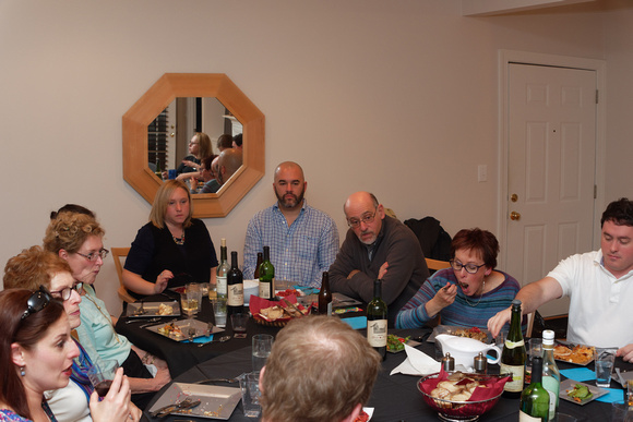 Jennifer, Karen, Susan, Grayson (hidden), Gill, Rich, Andy, Vicki, and David