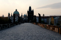 The Charles Bridge at dawn