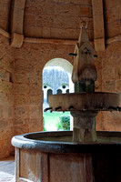 The covered fountain