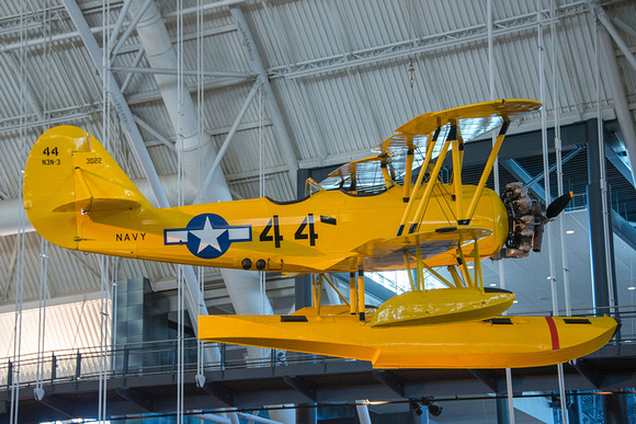 "Naval Aircraft Factory N3N ""Yellow Peril"""