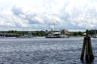 New Bern: Looking to the Bridgepointe Marina